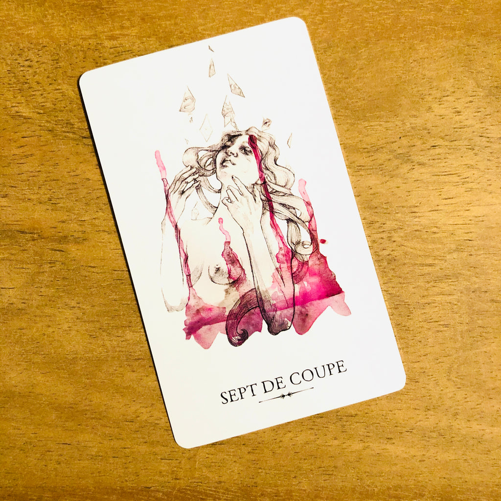 signification du sept de coupe, tarot