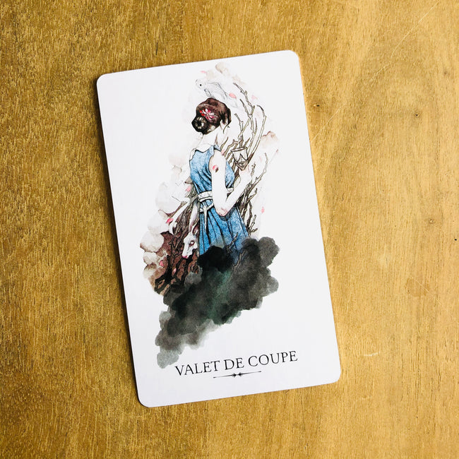 signification d valet de coupe, tarot