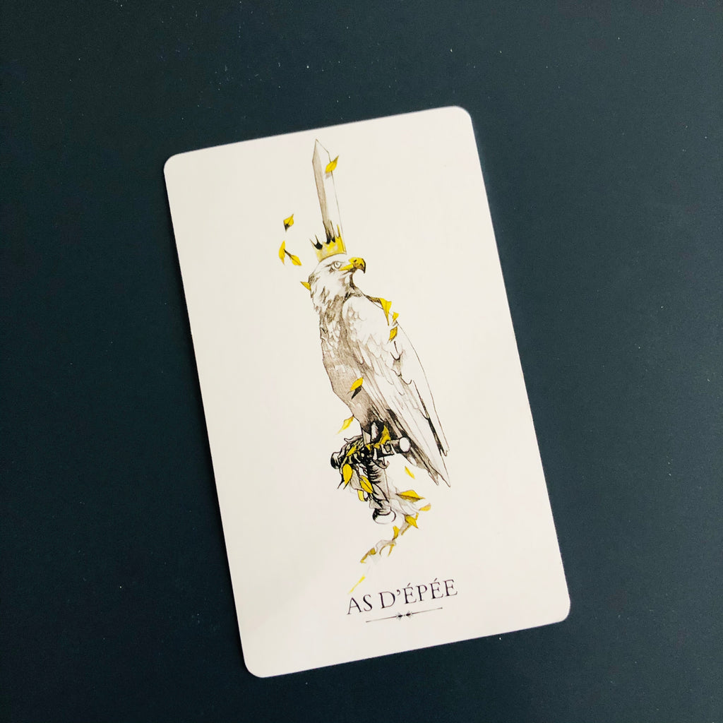 signification de l'as d'épée, tarot du funambule