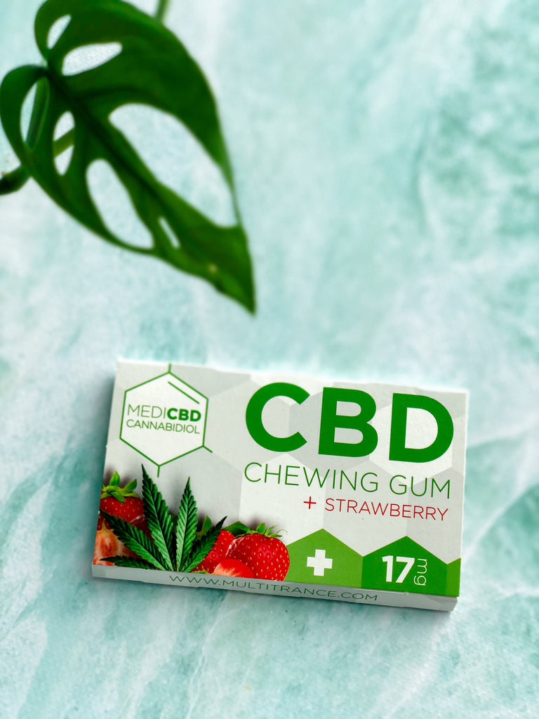 Chewing Gum CBD - holistea