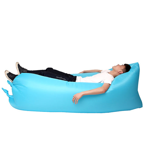 Waterproof Folding 250 x 75cm Lazy Bag Fast Inflatable Air Sofa