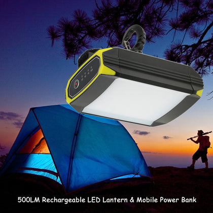 Rechargeable 30 LED Lantern and Mobile Power Port