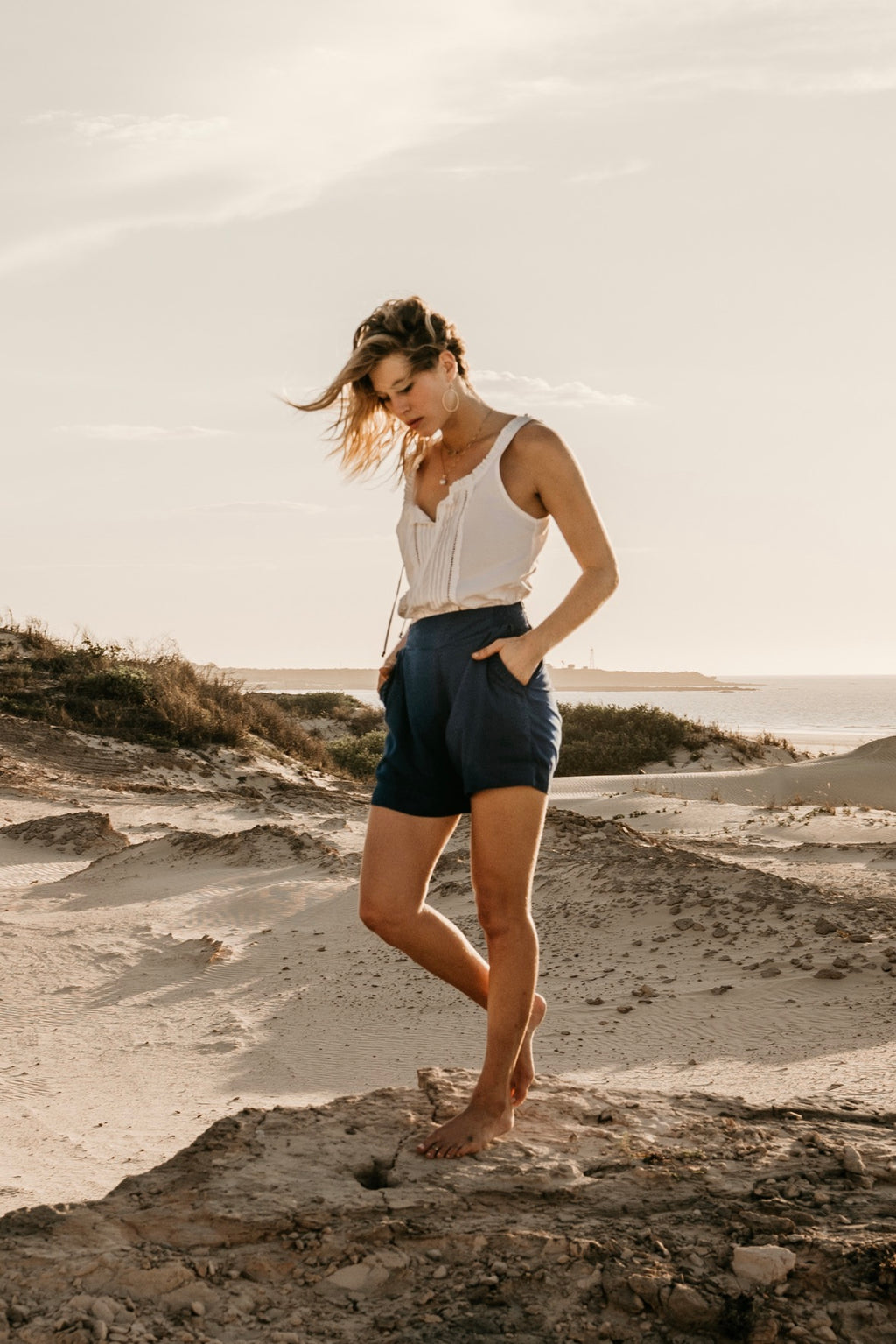 Kave Shorts - denim