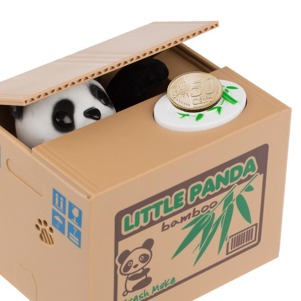 Coin Stealing Panda - Piggy Bank