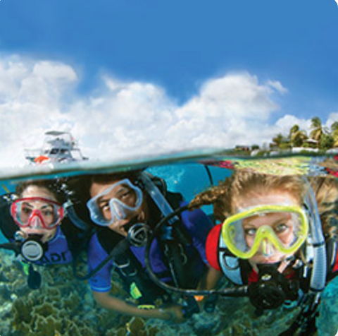 Open Water Diver e-learning (Learn to Dive)