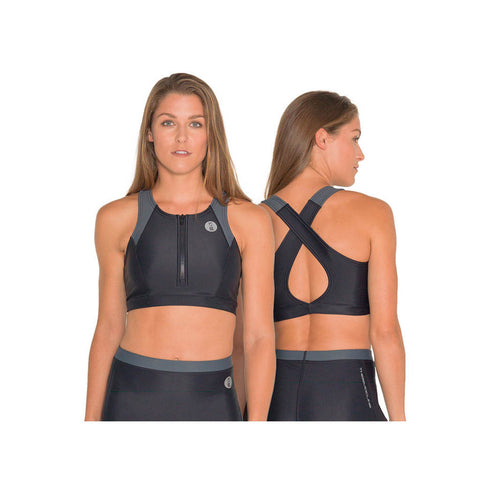 Thermocline Crop Top Ladies