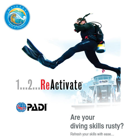 PADI ReActivate (Refresher) - Waiheke Dive & Snorkel LTD