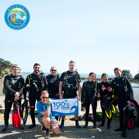 Project AWARE Clean Up Dive - Waiheke Dive & Snorkel LTD