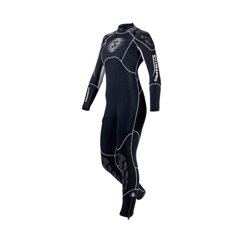 Everflex 5/4mm Semi Dry Wetsuit Ladies - Waiheke Dive & Snorkel LTD
