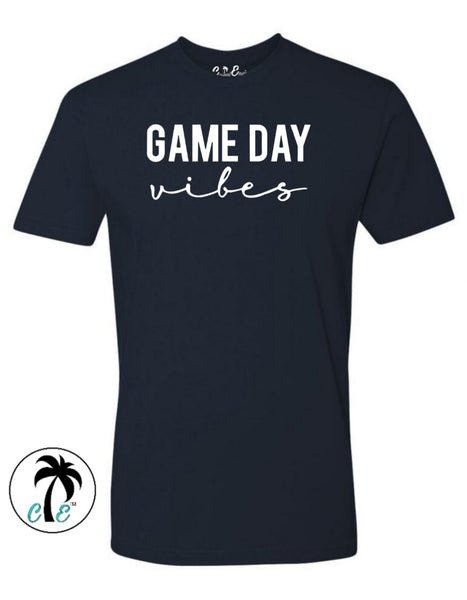Navy Blue Game day Vibes Shirt