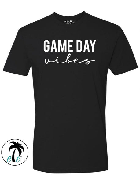 Black Game day Vibes Shirt