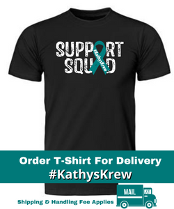 #KathysKrew Tshirt For Delivery - Pre Order