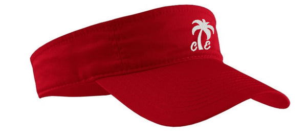 Embroidered Palm Tree Sun Visor (4 Colors)