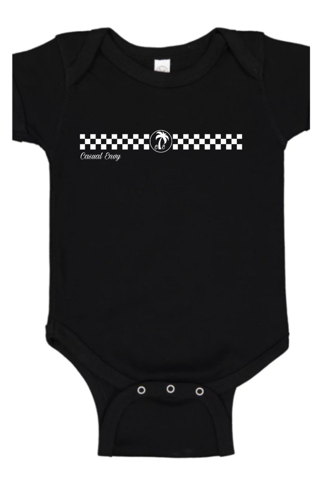 Checkerboard Racer Onsie
