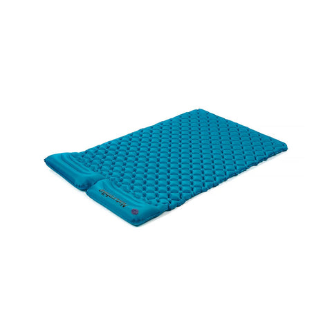Ultralight Egg Tray Double Inflatable Mattress with Pillow