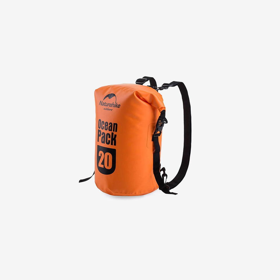 20L 500D Marine Double Shoulder Strap Dry Bag
