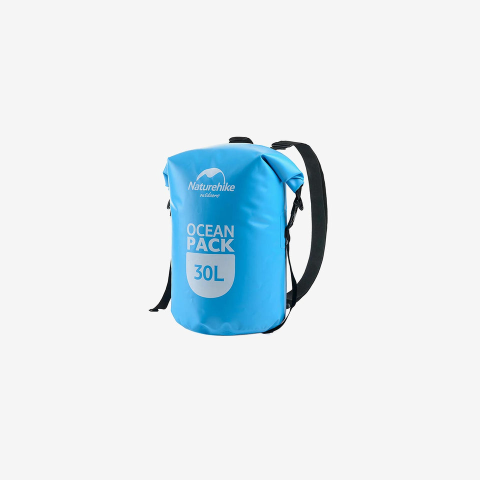 30L 500D Marine Double Shoulder Strap Dry Bag