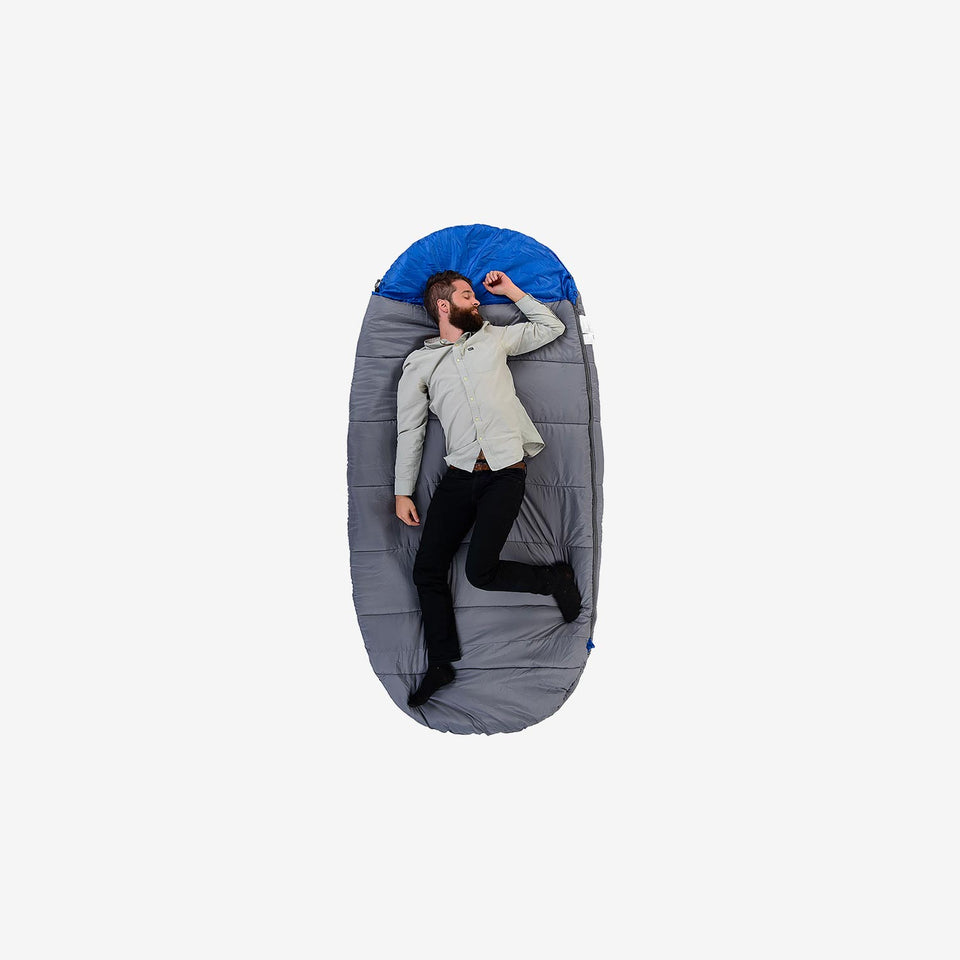 Cool Shell Oval Sleeping Bag