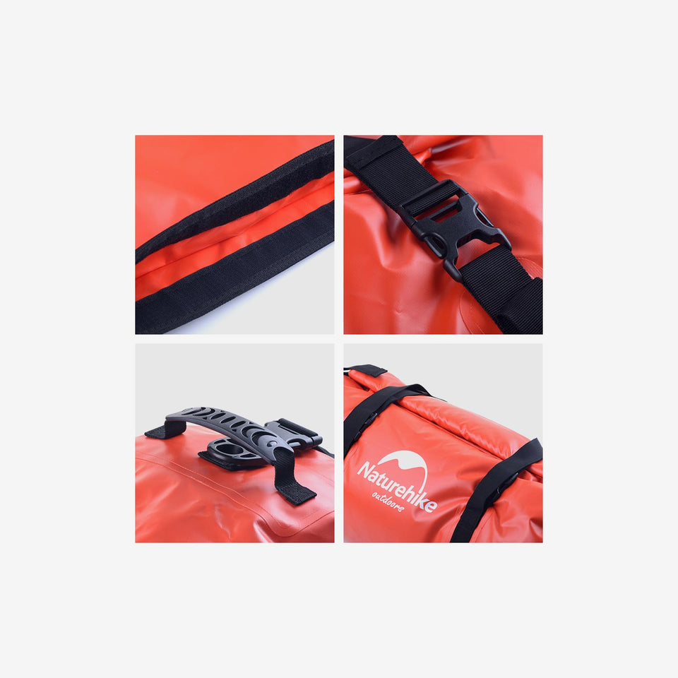 40L Rugged PVC Duffel Dry Bag