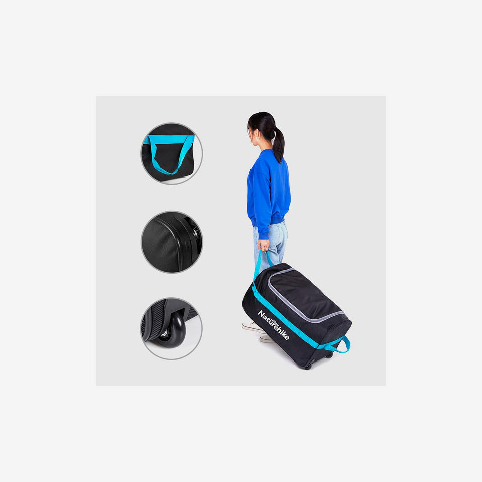 Foldable Wheeled Duffel Bag