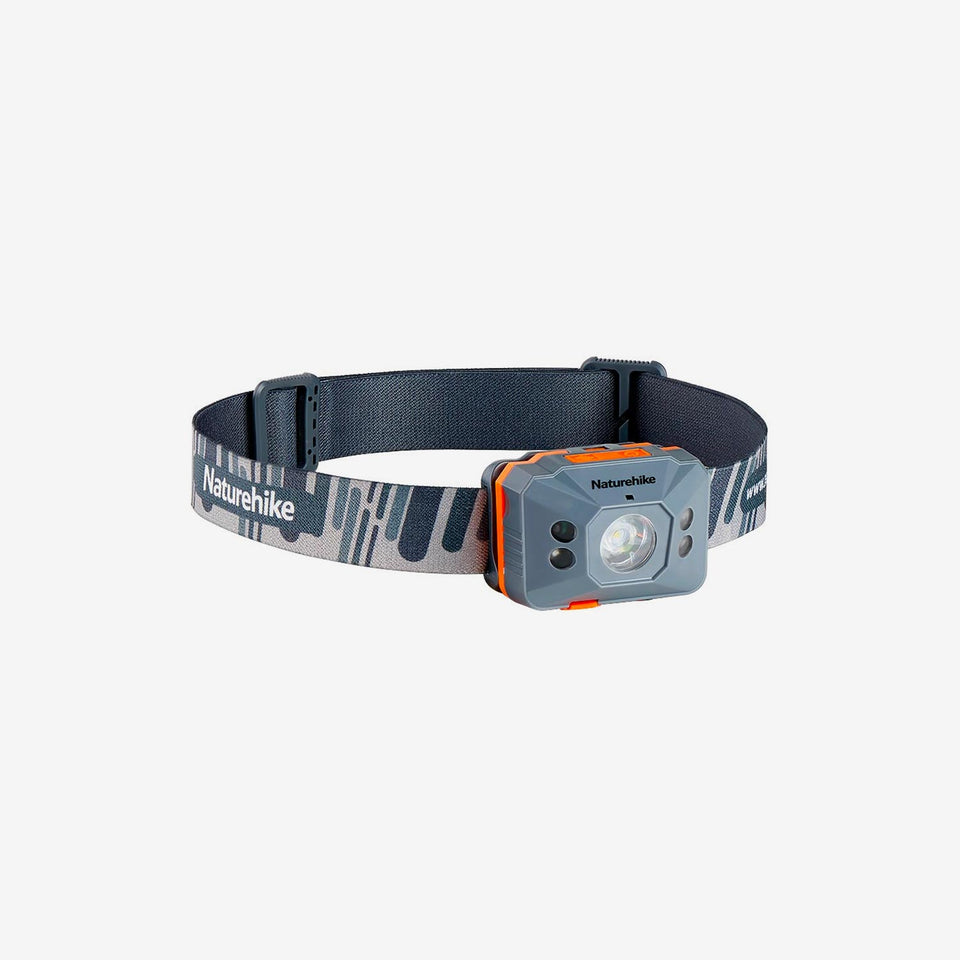 Motion Sensing Waterproof Rechargeable Headlamp