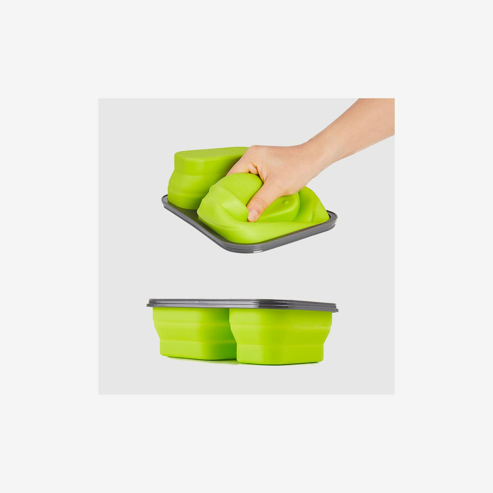 Silicone Foldable Lunch Box (S)