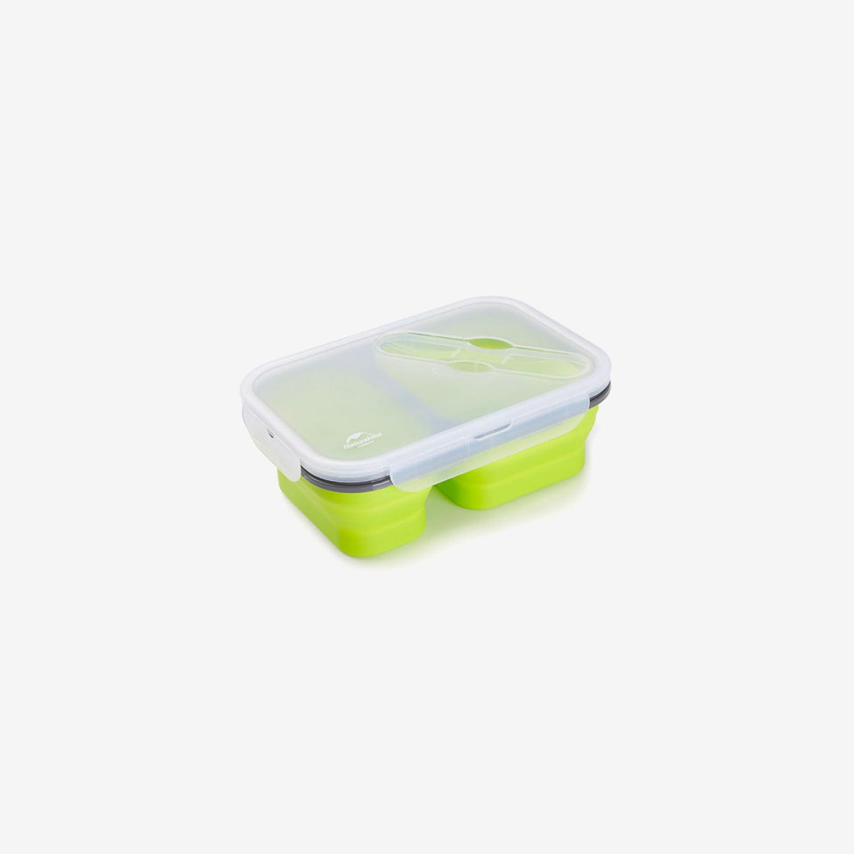 Silicone Foldable Lunch Box (M)