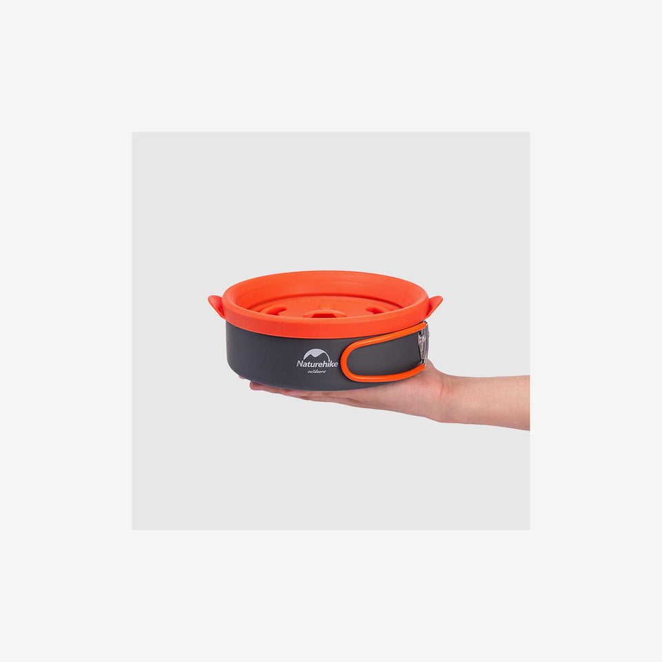 H020 Silicone Lid Camping Pot
