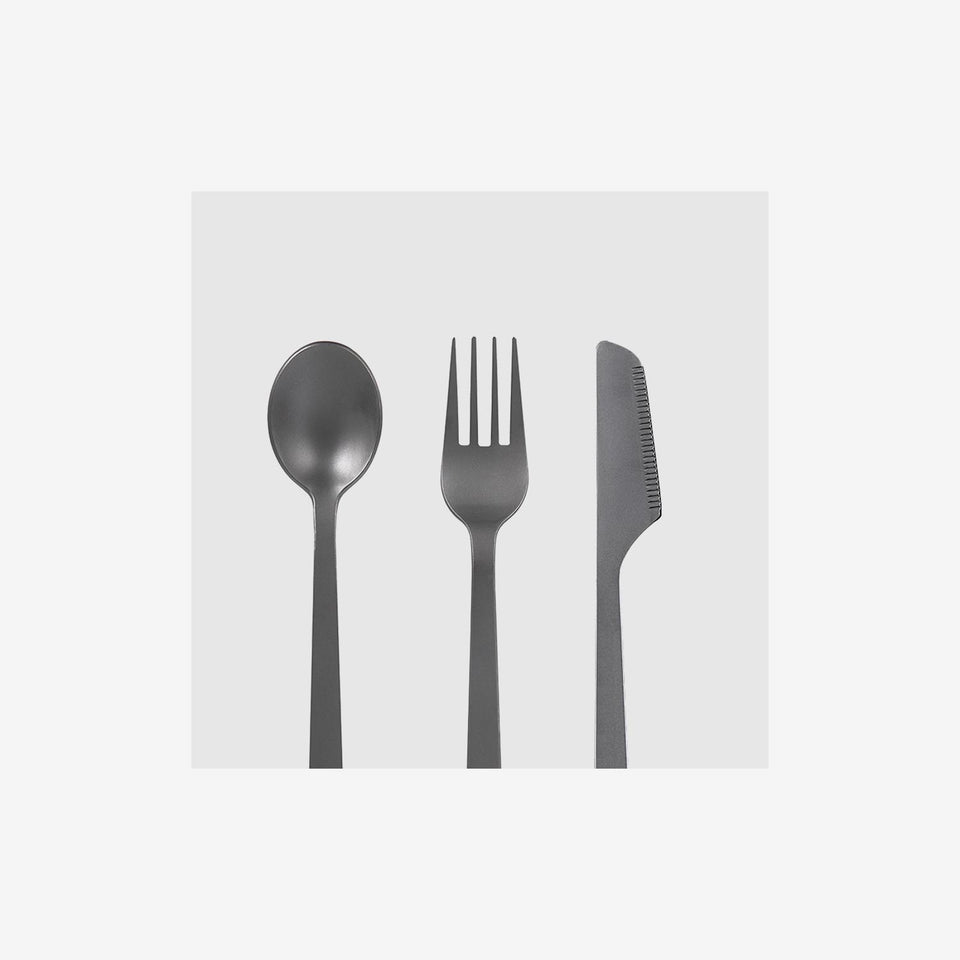 Titanium 3 Piece Cutlery Set