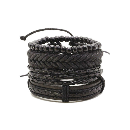 ROCK all black bracelet