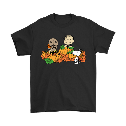 Welcome The Great Pumpkin Sam Brown Halloween Snoopy Shirts