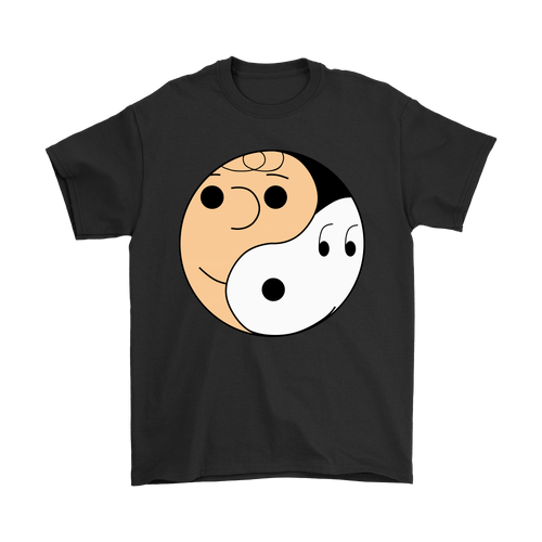 Yin And Yang Charlie Brown And Snoopy Shirts