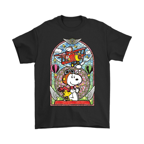 Dream Big World War Red Baron Flying Ace Snoopy Shirts
