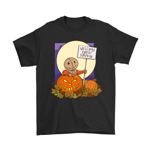 Trick Or Treat Sam Welcome The Great Pumpkin Halloween Linus Shirts