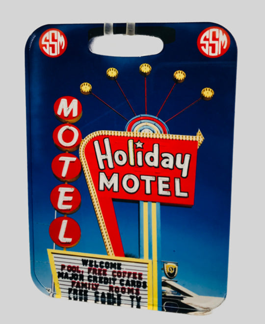 Luggage Tag | Acrylic | Holiday Motel, Las Vegas