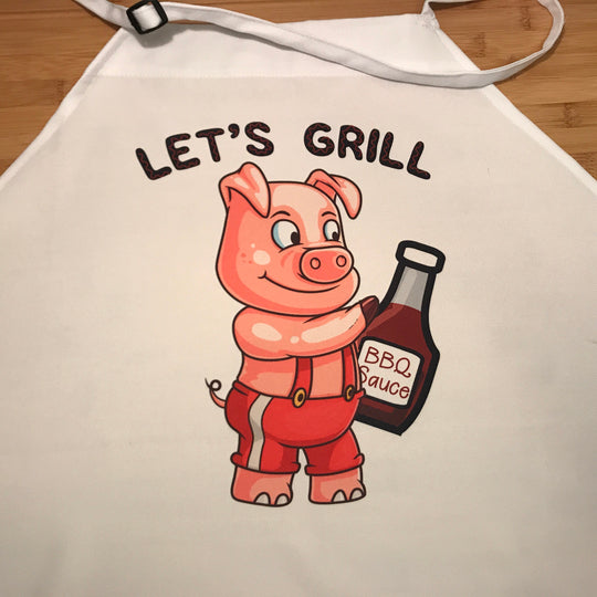 Apron | Let's Grill - So Flippin' Good