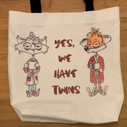 Tote Bag | Large | Tired Parents