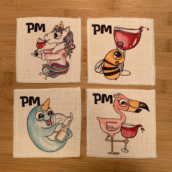 Coasters | Linen | AM & PM