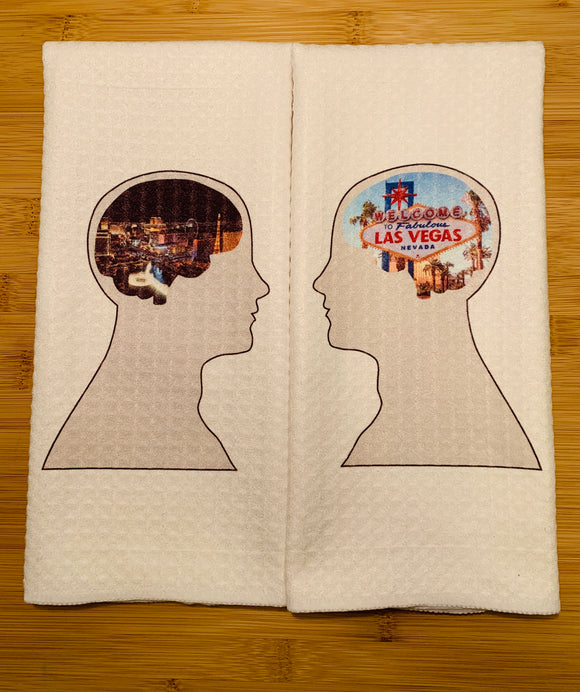 Kitchen Towel | Las Vegas Brain