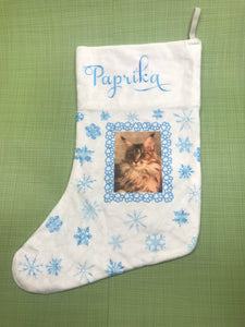 Custom Stocking - Velvet Fabric
