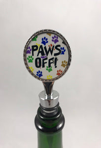 Bottle Stopper | Paws Off