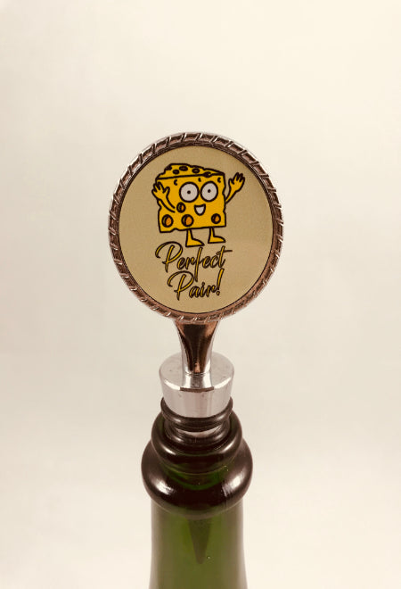 Bottle Stopper | Mr Cheese - Perfect Pair