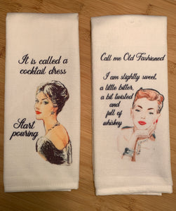 Kitchen Towel Set | Old Fashioned