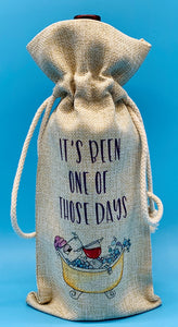 Wine Gift Bag | It's Been One of Those Days