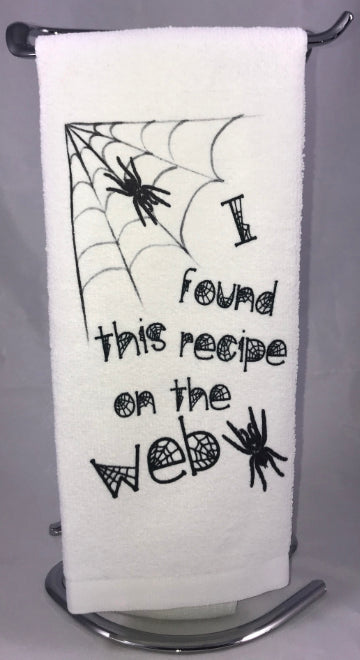 Kitchen Towel | I Found This Recipe On The Web