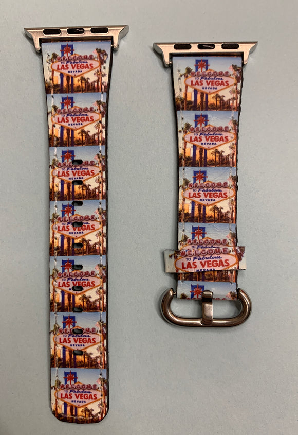 Apple Watch Band | 38mm or 42mm | Las Vegas Sign