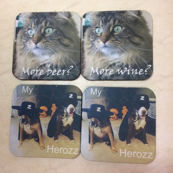 Coasters | Custom | Set of Four