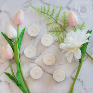 natural scented tea light nz