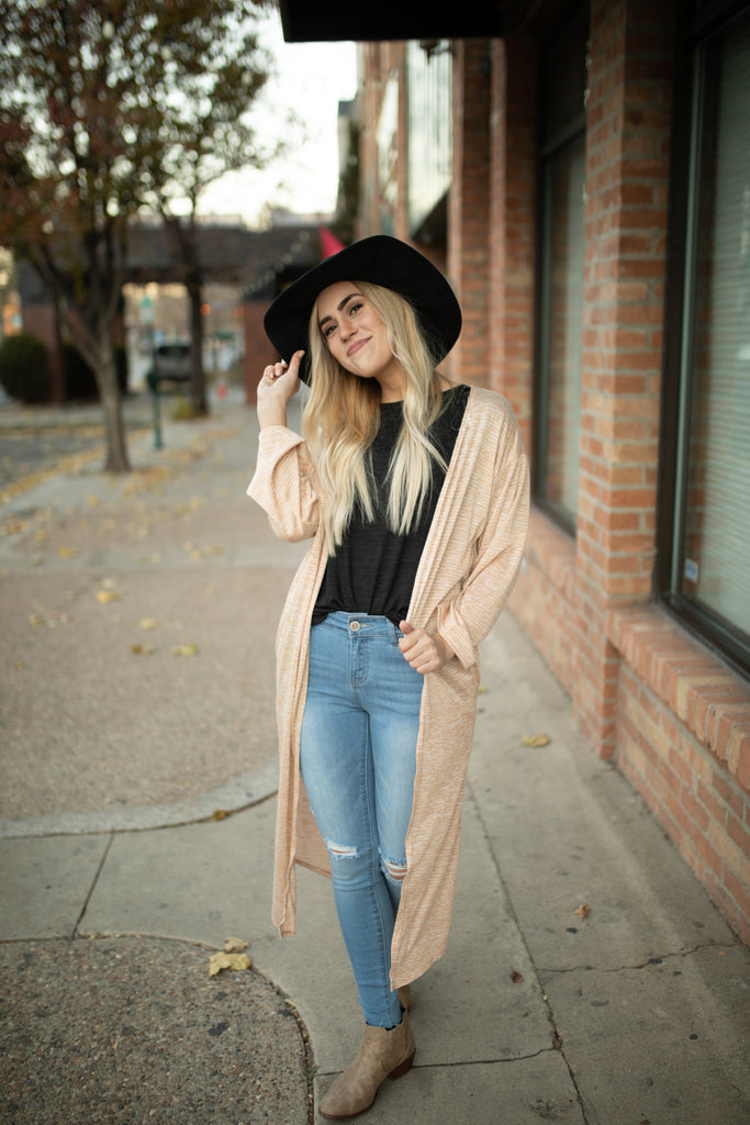 Delicate Stripped Cardigan