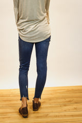 The Layla Distressed Jeans (Medium Wash)